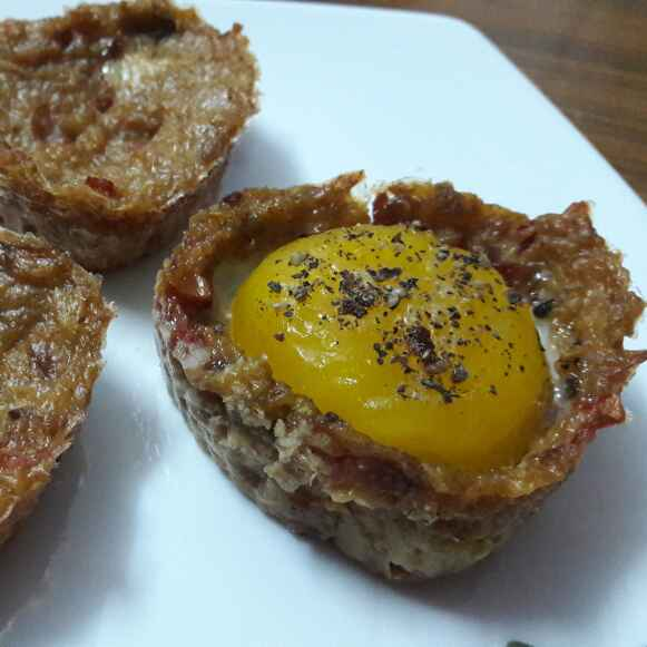 Photo of Egg Muffins with Oats and Vegetable Crust by swetambari mahanta at BetterButter