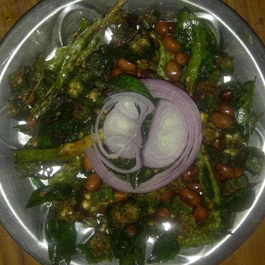 Photo of Crispy bhindi by Swetha Vijayagiri at BetterButter