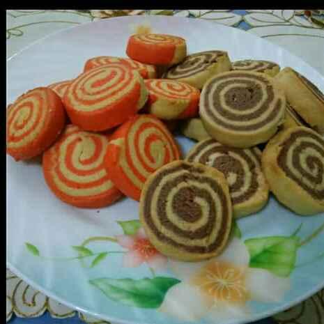 Photo of Pinwheel butter cookies by Tamali Rakshit at BetterButter