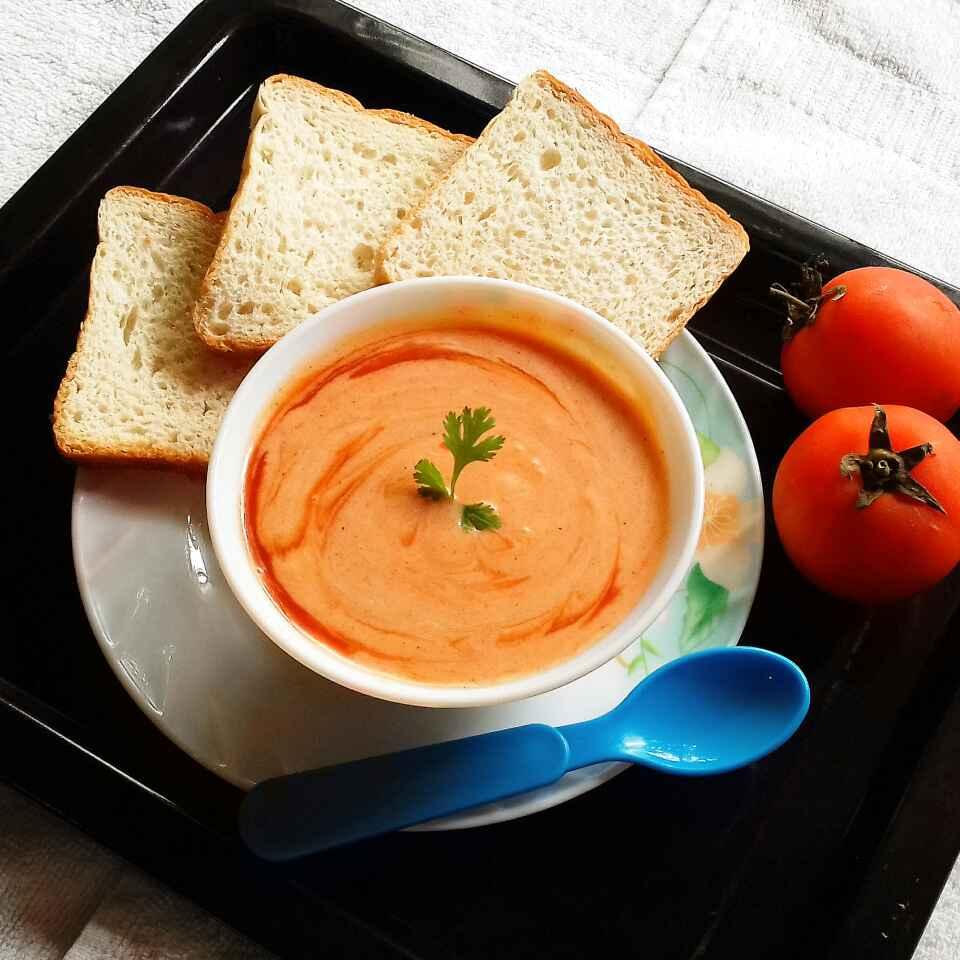 Photo of Tomato Creamy soup by Tamali Rakshit at BetterButter