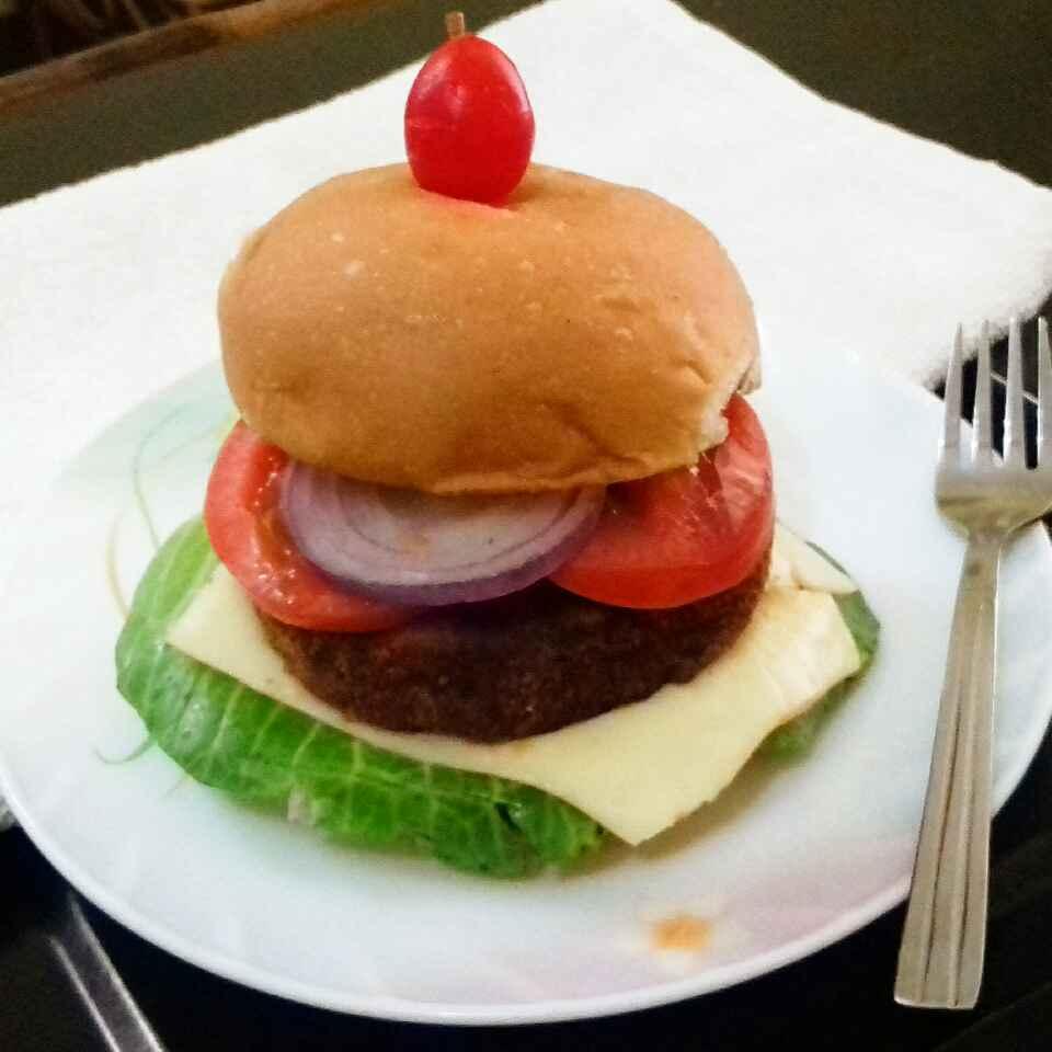 Photo of Soya-Spinach Burger by Tamali Rakshit at BetterButter