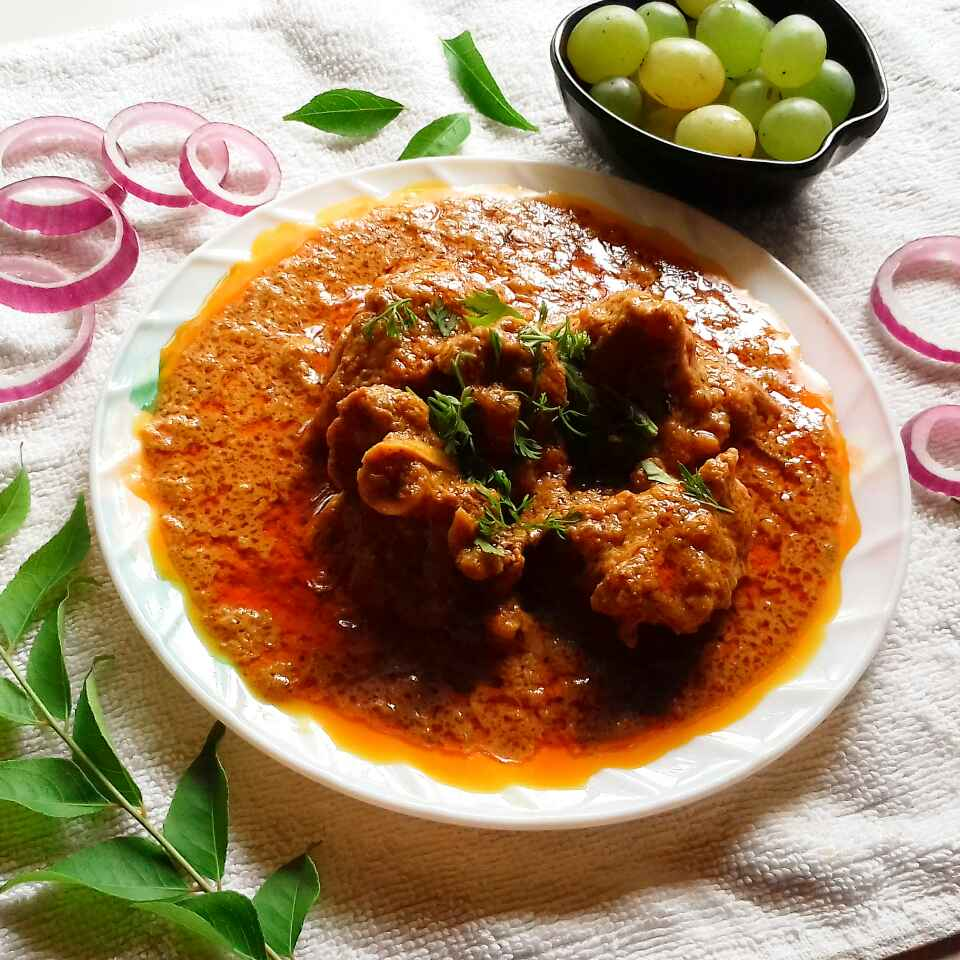 Photo of Mutton with grapes by Tamali Rakshit at BetterButter