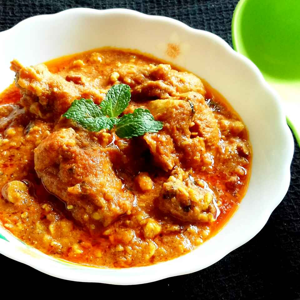 How to make Murg Rashida