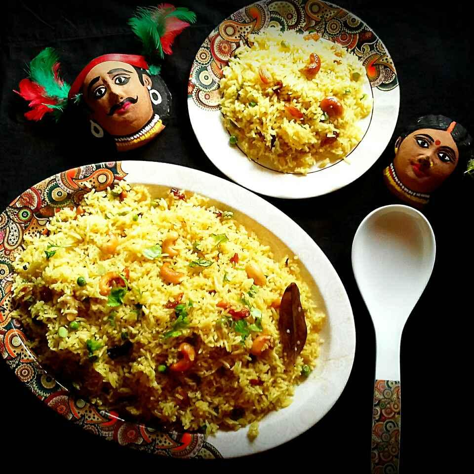 How to make Basanti Pulao