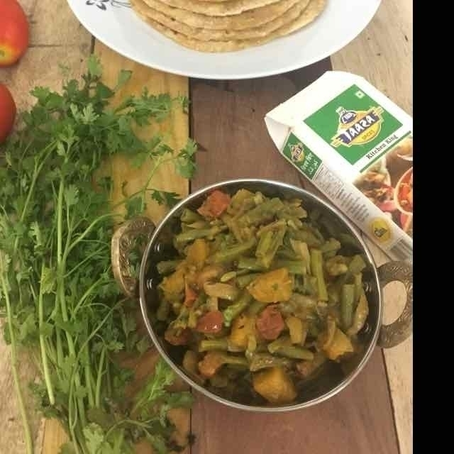 How to make Long beans tasty curry