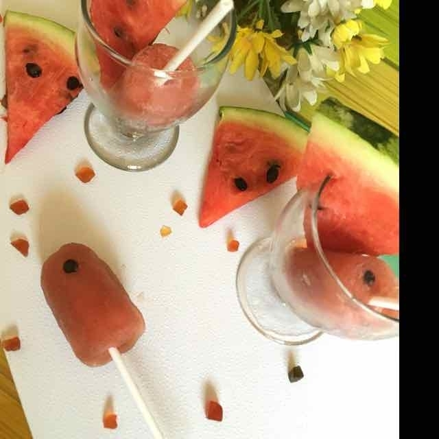 Photo of Watermelon Popsicle by Tania Deb at BetterButter