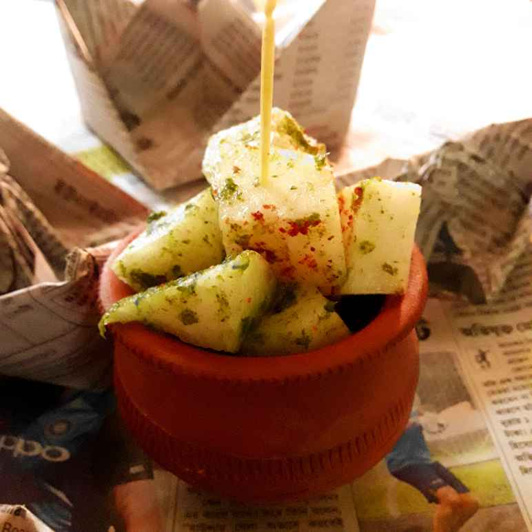 Photo of Yam bean chatpata chaat by Tanni Goswami at BetterButter