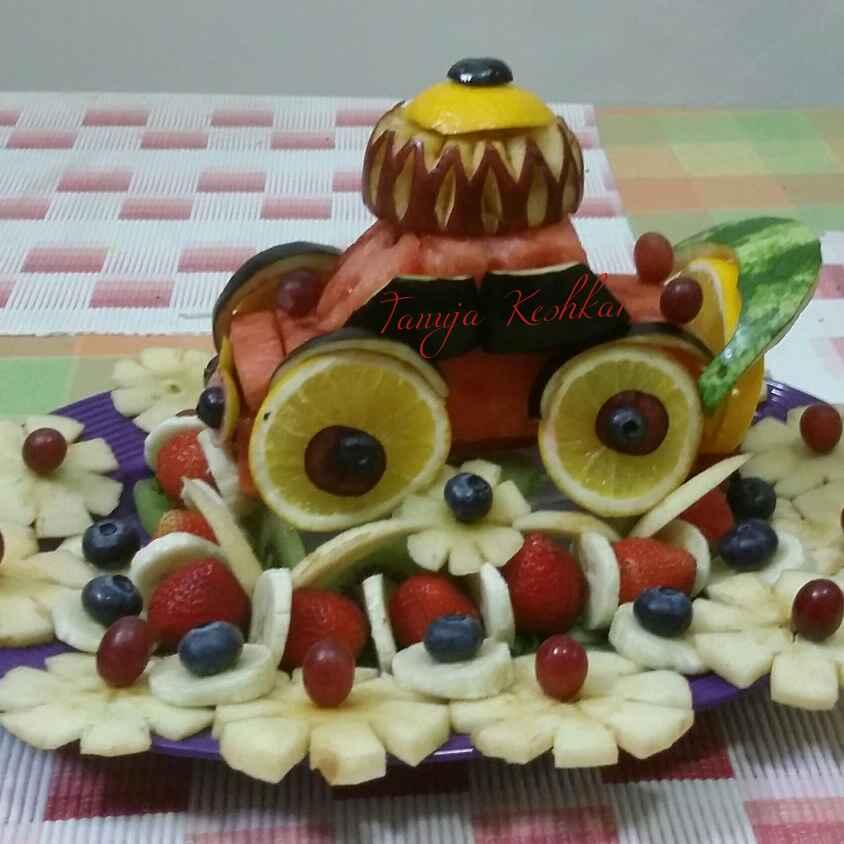 Fruits Car Salad