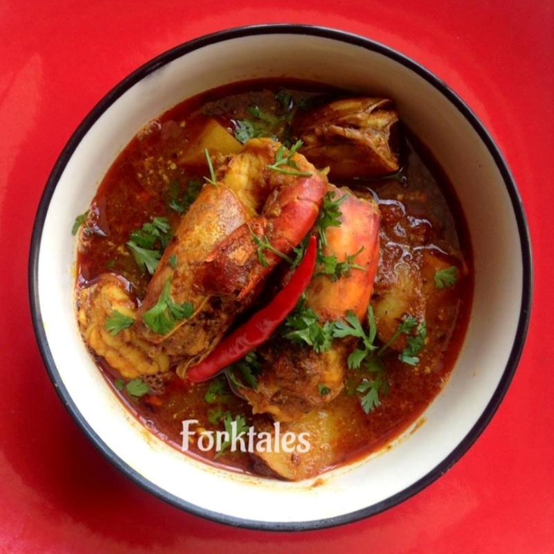 Photo of Bengali style prawn curry with ginger and cumin by Tanushree Bhowmik at BetterButter