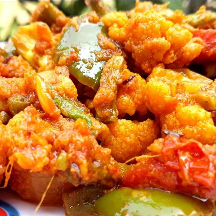 Photo of Restaurant Style Mix Veg Recipe by Tanushree Jha at BetterButter