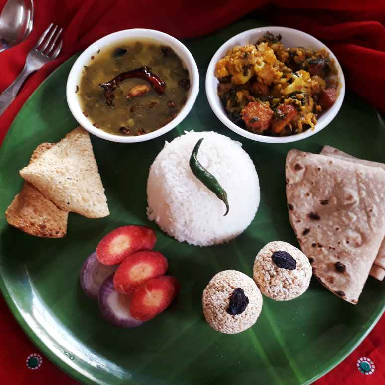 Photo of Healthy food platter by Tanushree Jha at BetterButter