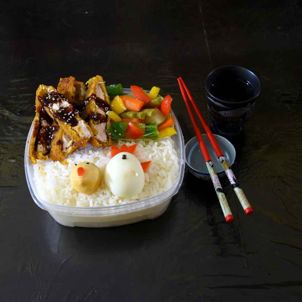 Photo of Japanese bento box by Tanusree Basak at BetterButter