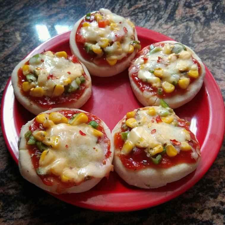 Photo of Mini Pizza by Tanusree Basak at BetterButter