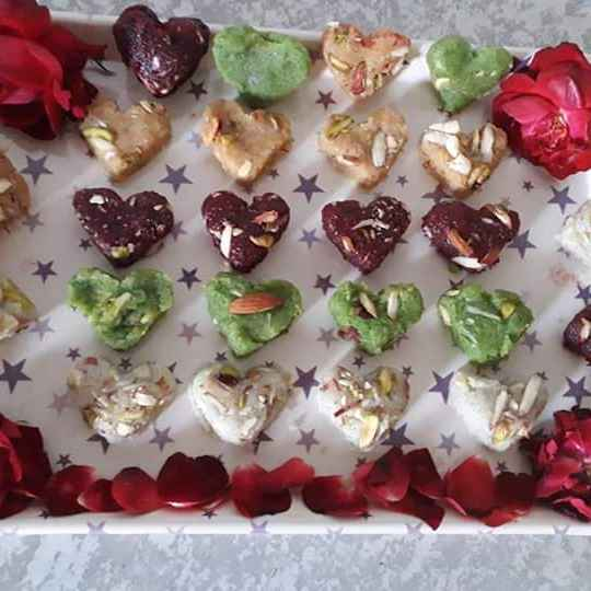 Photo of Natural colourful barfi by Tanvi Bhojak at BetterButter
