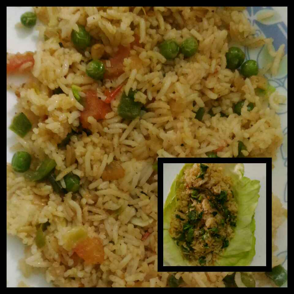 How to make Leftover Rice Tadka