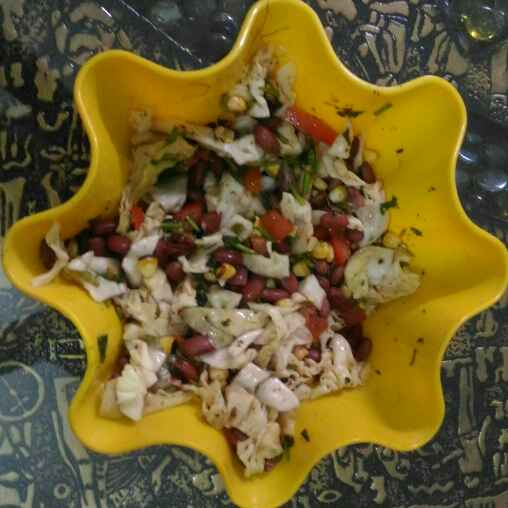 How to make Mexican salad