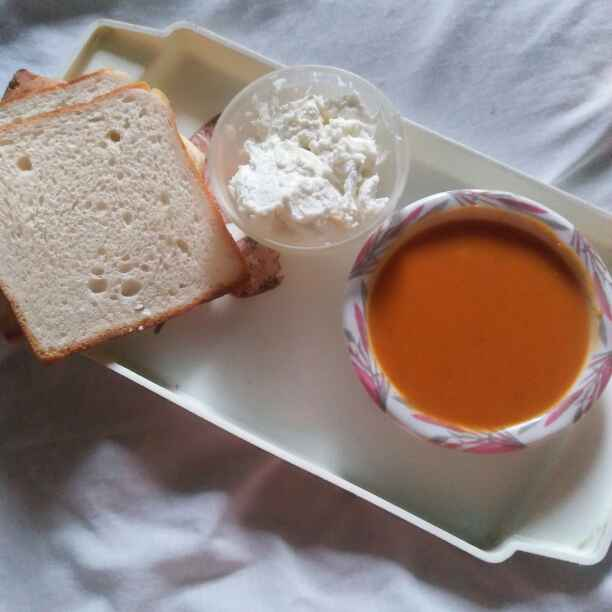 Photo of Tomato soup by safiya abdurrahman khan at BetterButter