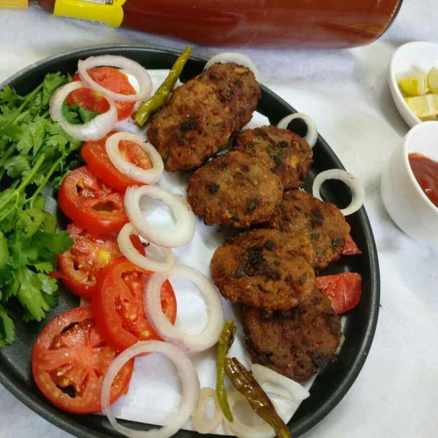How to make तवा कबाब