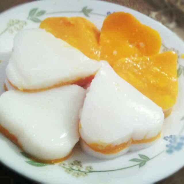 How to make Mango hearts