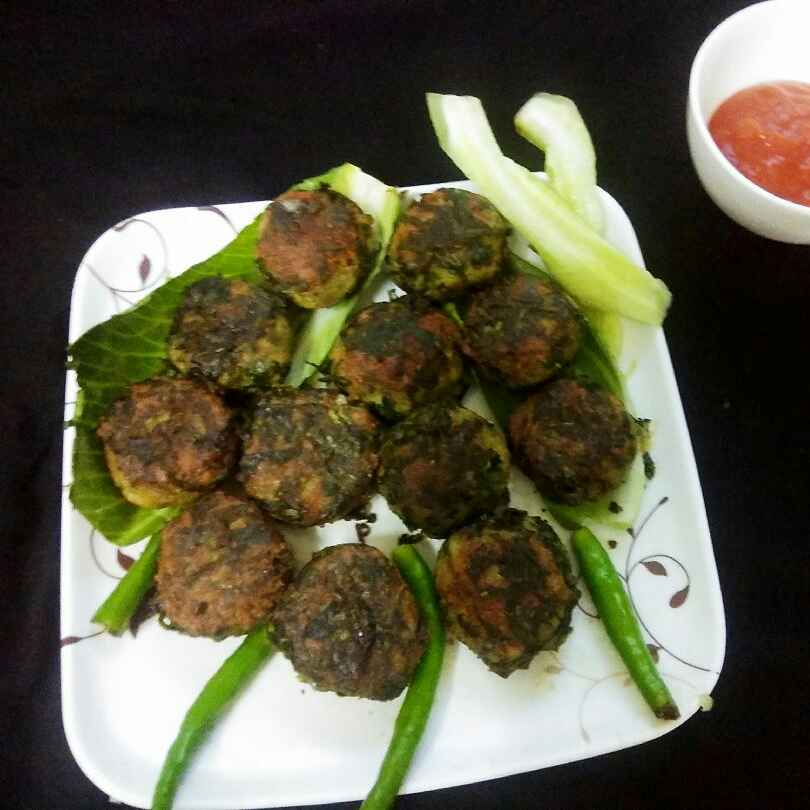 Photo of Spinach chicken cutlets by safiya abdurrahman khan at BetterButter