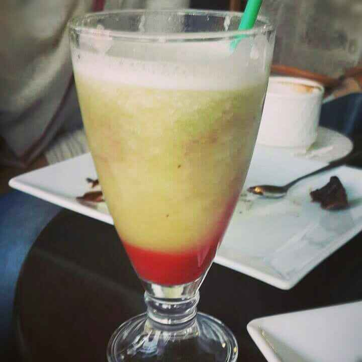 Photo of Pineapple pomegranate slush by safiya abdurrahman khan at BetterButter