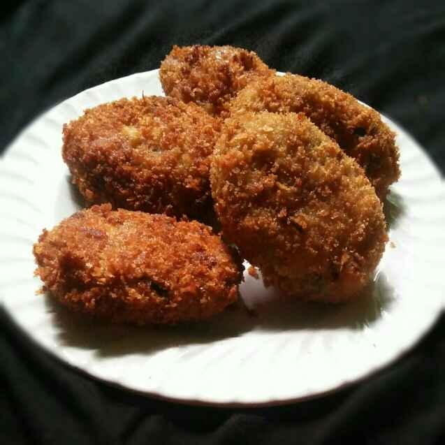 How to make Special cutlets(with leftover fish,chiken and potato)