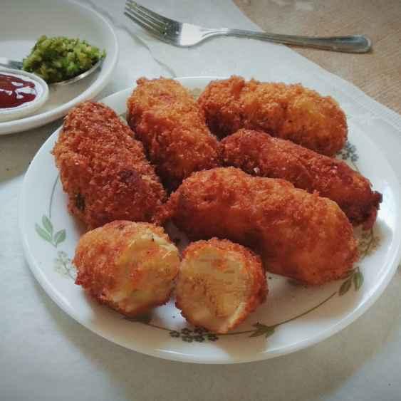 Photo of Cheesy potato croquets by safiya abdurrahman khan at BetterButter