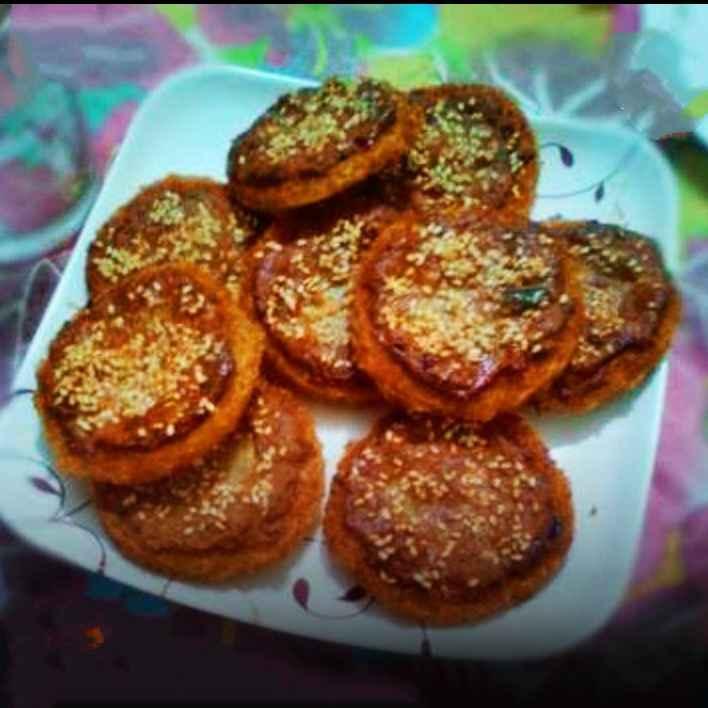 Photo of Golden potato coins by safiya abdurrahman khan at BetterButter