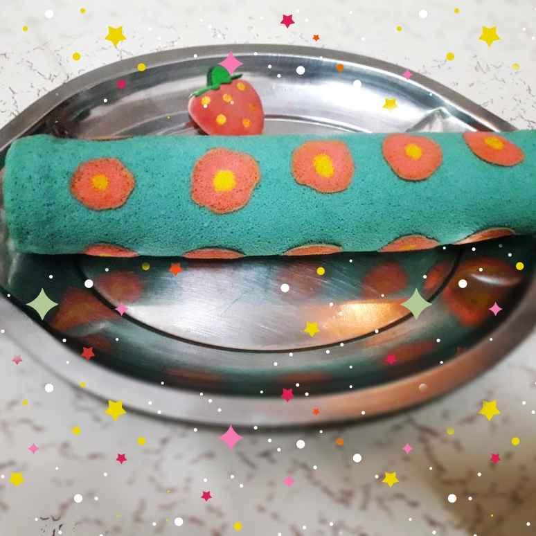How to make Polka dot swiss roll