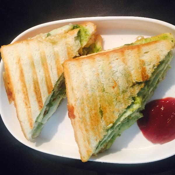 How to make Grilled Paneer Sandwiches