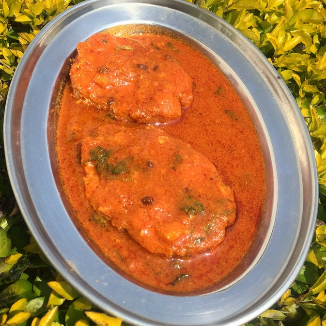 How to make Kerala style fish curry with coconut.