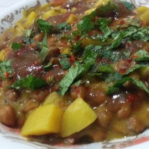 How to make Chana Bateta (Chatpati)