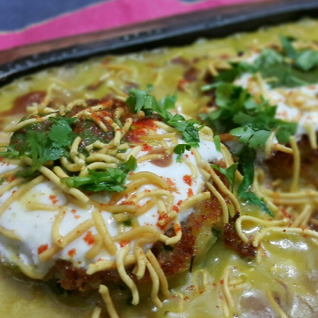 Photo of Sizzling ragda patty by Tasneem hozefa at BetterButter