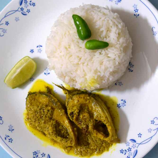 How to make Bhapa Ilish (Steamed Hilsa Fish)