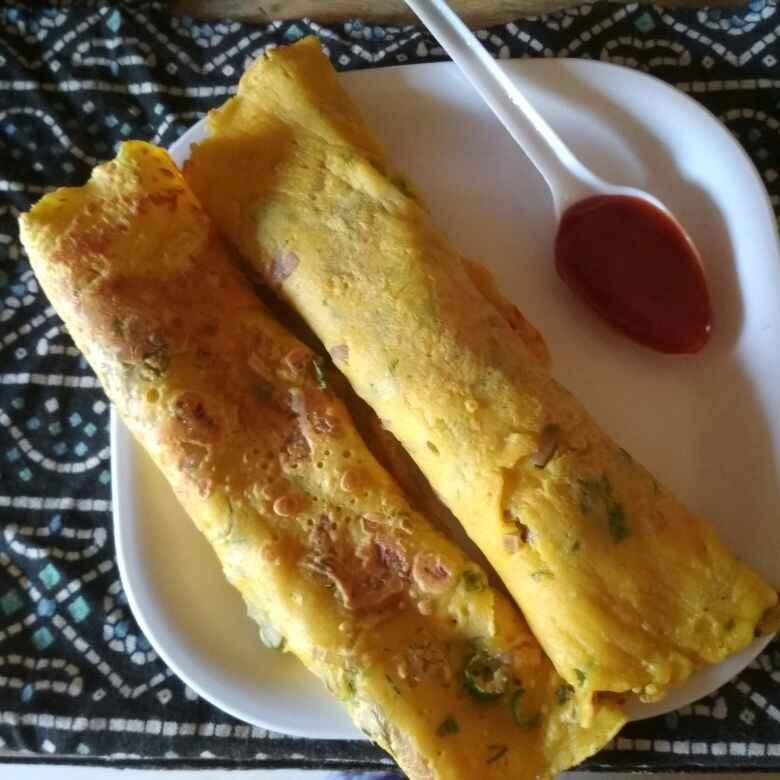 How to make Veg omlet