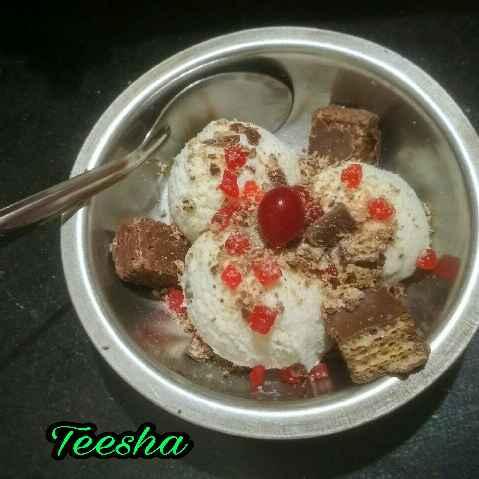 Photo of Vanila mix dryfruits icecream by Teesha Vanikar at BetterButter