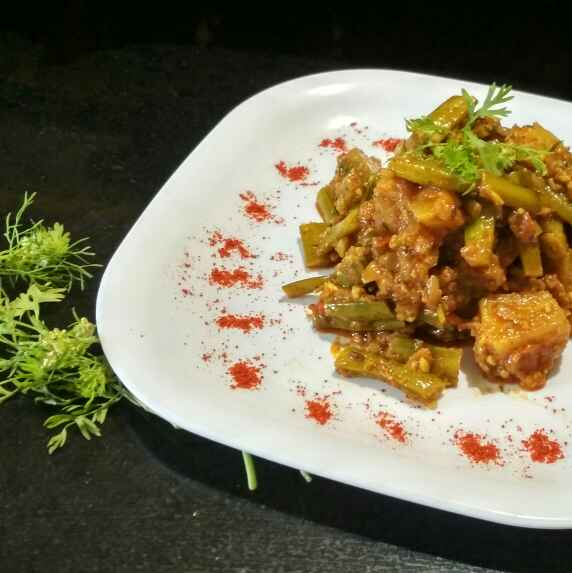 Photo of Masala gavar batata by Teesha Vanikar at BetterButter
