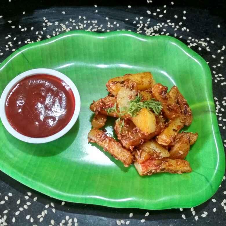 Photo of Fry potato in Cumin sesame by Teesha Vanikar at BetterButter