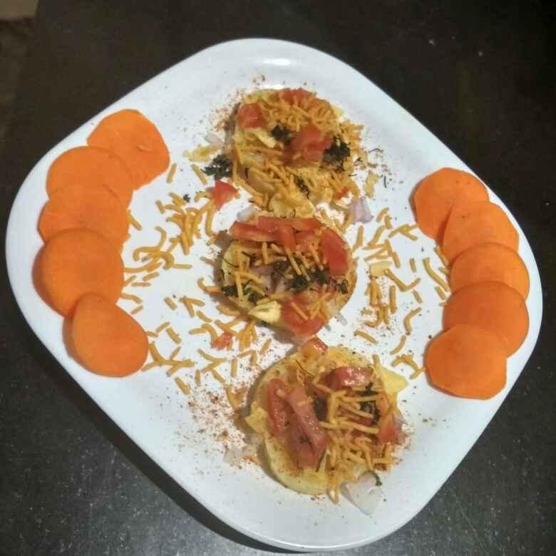 Photo of Sweet potato disc chat by Teesha Vanikar at BetterButter