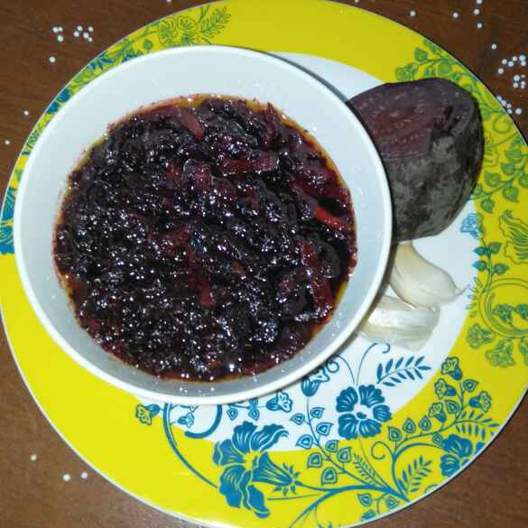 Photo of Beetroot Pickle by Tejashree Ganesh at BetterButter