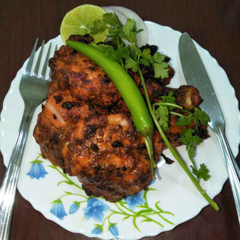 Photo of Tandoor Chicken by Tejashree Ganesh at BetterButter