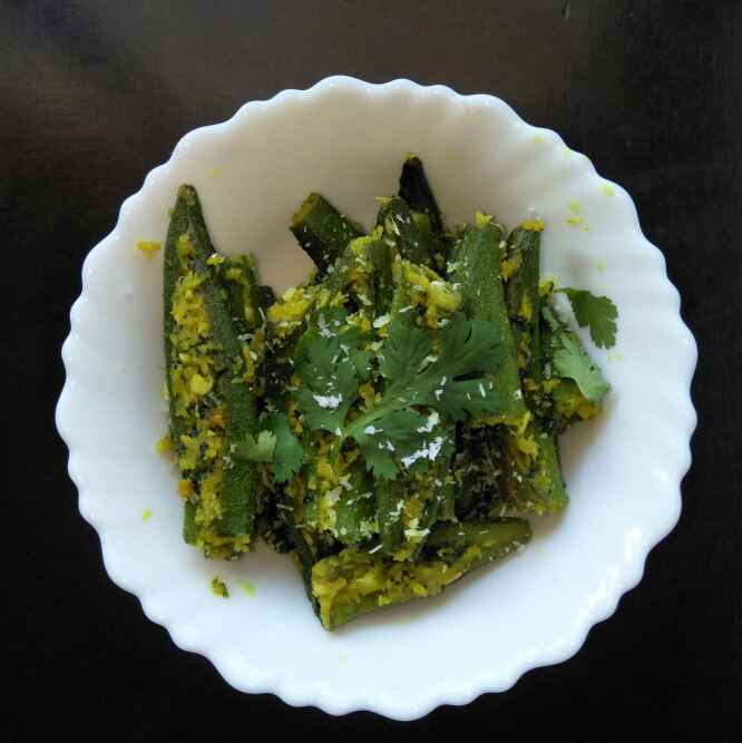 Photo of Stuffed Okra fry by Tejashree Ganesh at BetterButter