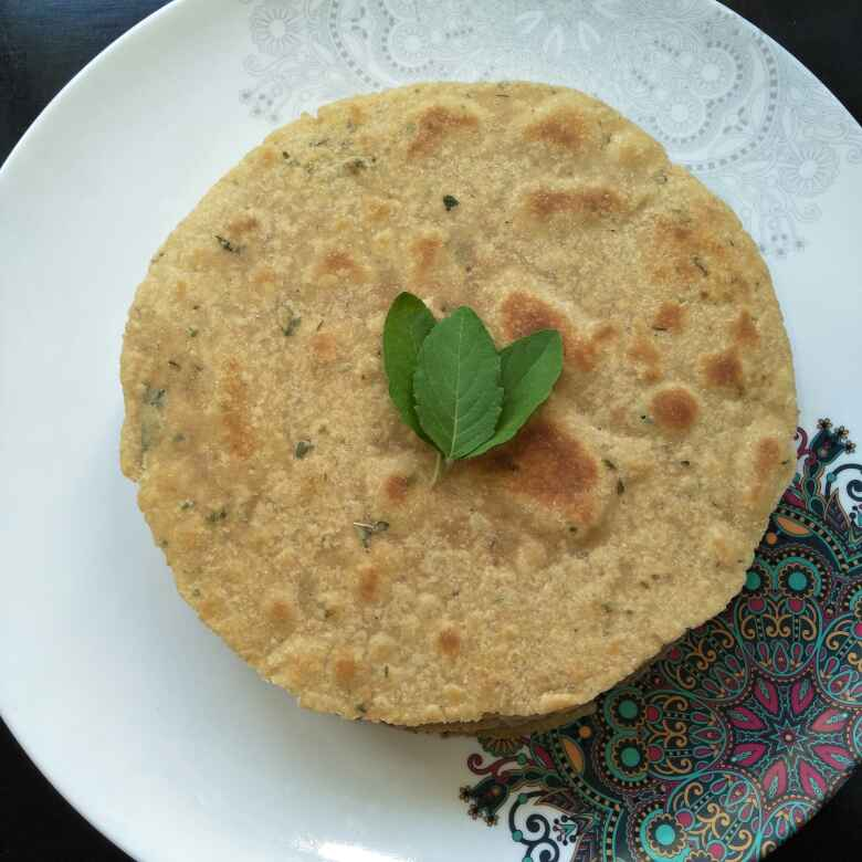 How to make तुळस खखरा