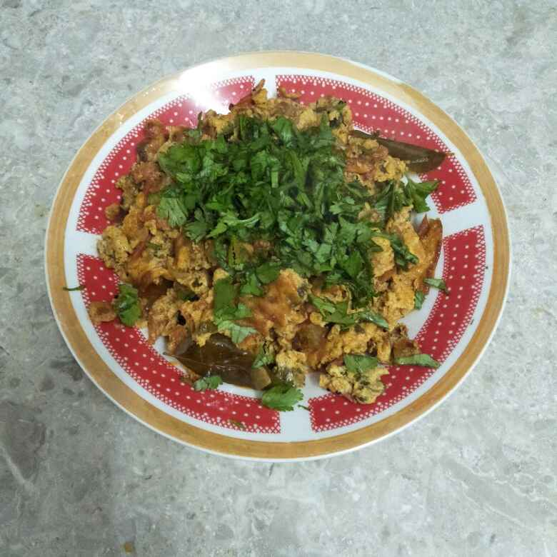 Photo of Egg bhurji out of leftover timato Chatny by Tejashree Ganesh at BetterButter