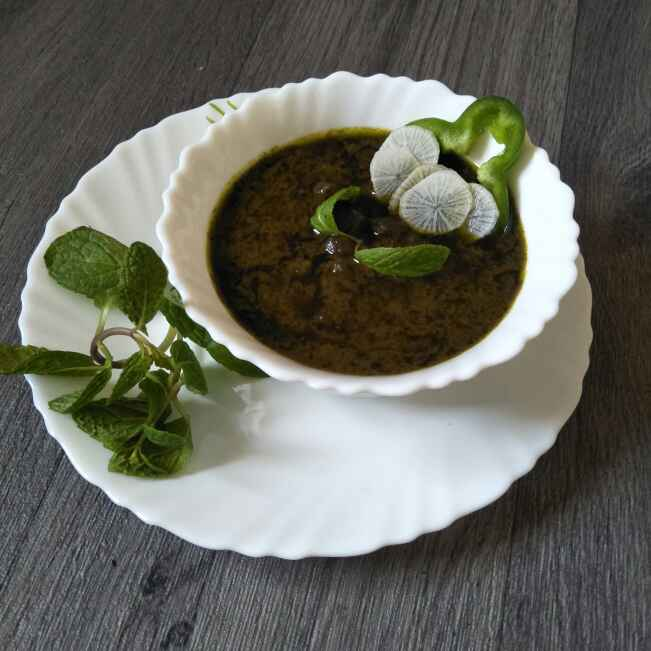Photo of Green Chana With Green Gravy by Tejashree Ganesh at BetterButter
