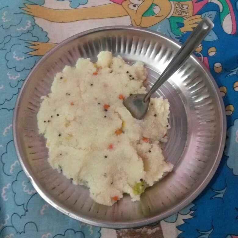 Photo of Bombai ravva upma by Tejaswi Yalamanchi at BetterButter