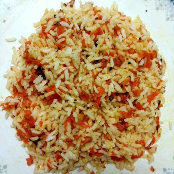Photo of Carrot rice by Tejaswi Yalamanchi at BetterButter