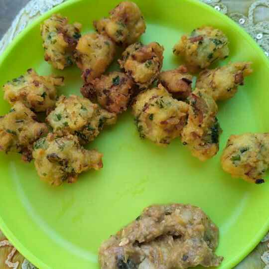 Photo of Pakora with left over rice by Tejaswi Yalamanchi at BetterButter