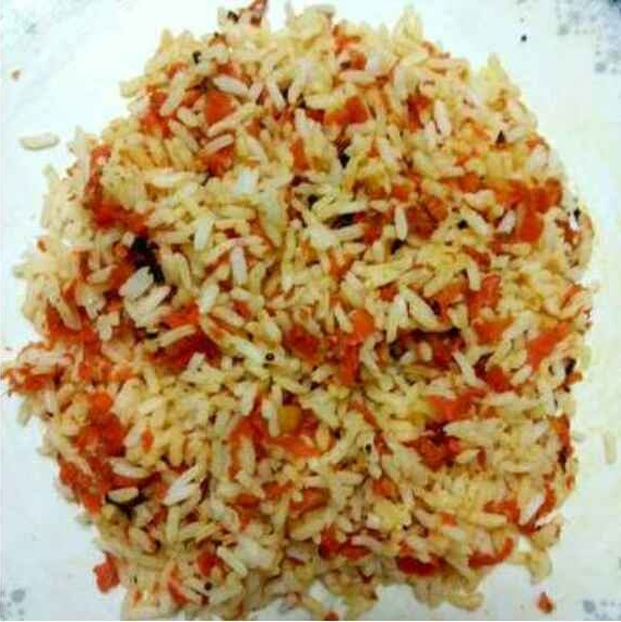 How to make Carrot rice