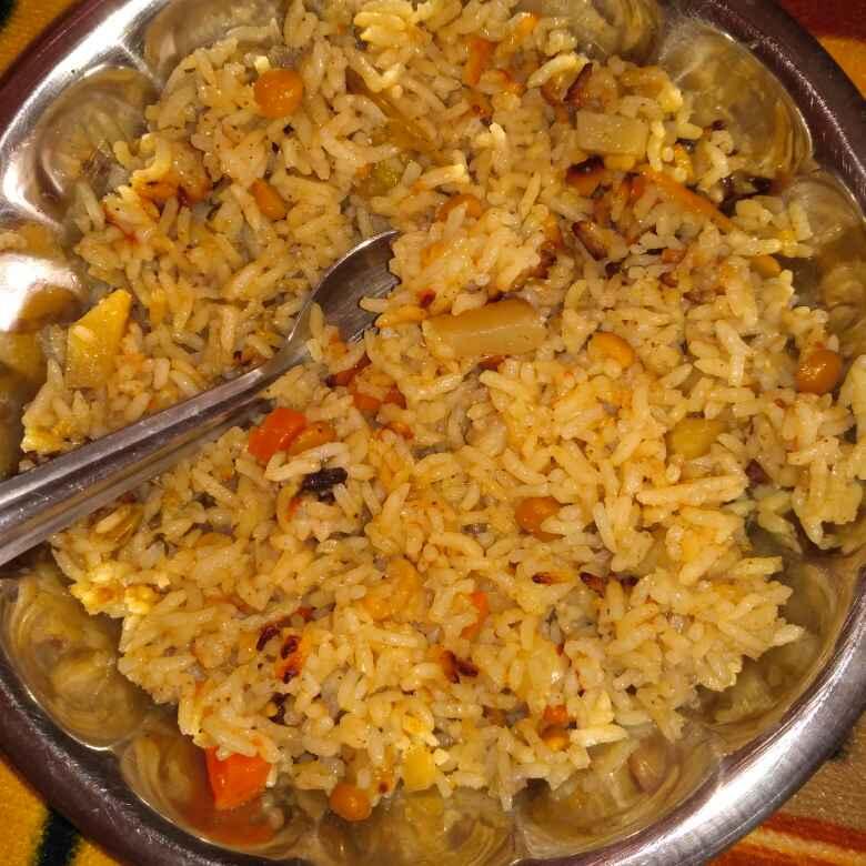 Photo of Mixed vegetable rice by Tejaswi Yalamanchi at BetterButter